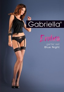 Komplet Gabriella Erotica Blue Night 219
